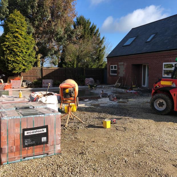 Building site, Bagworth