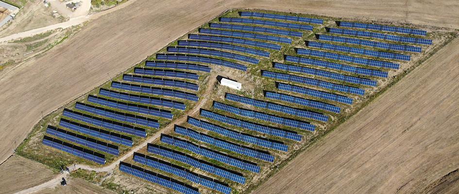 Projekt Freiflächenanlage Matera, Italien