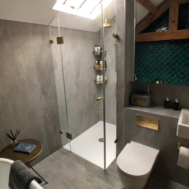 Bathroom completed, Boddington.