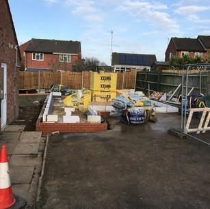 Building work in progress, Daventry
