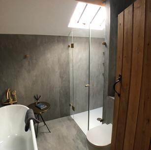 Bathroom project in Boddington.