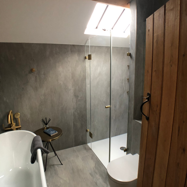 Bathroom project in Boddington.