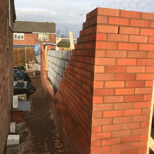 Daventry, building work