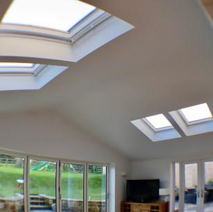 Ceiling windows, home rennovation Northants