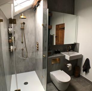Shower and bathroom rennovation.