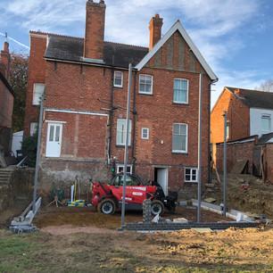 Building work Badby Road