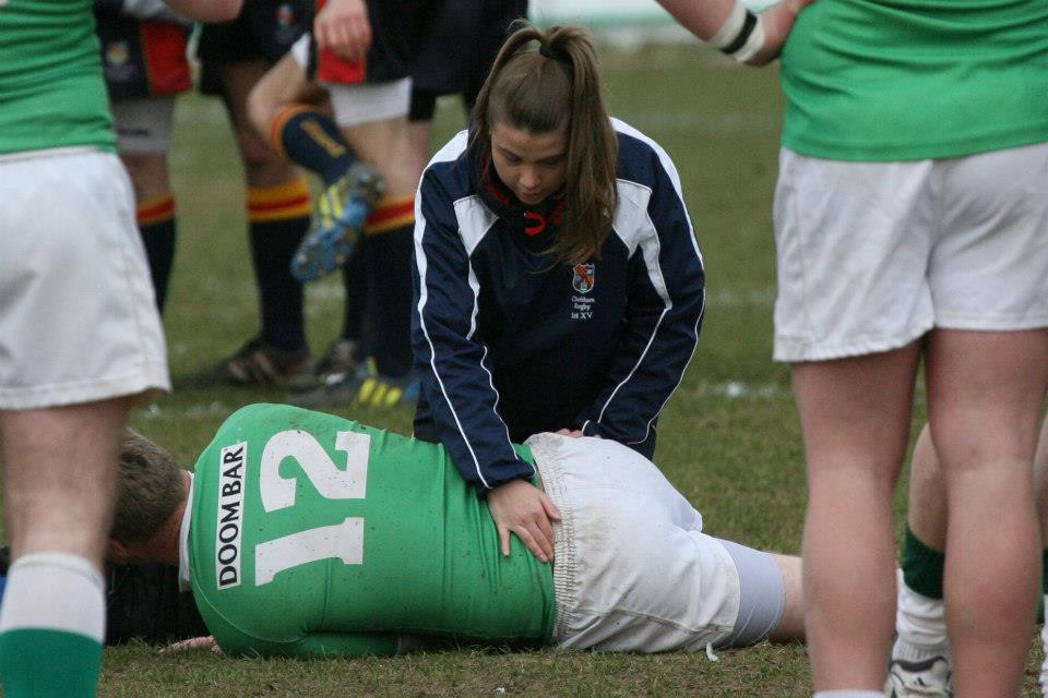 EW Sports Therapy at Chobham Rugby