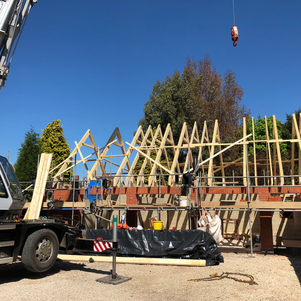 Crane in Bagworth