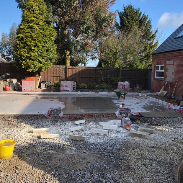 Construction in progress, Bagworth