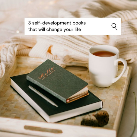 3 books to read for self-development