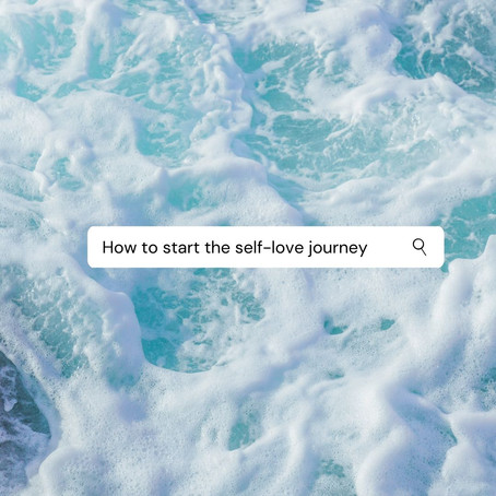 How to start the self-love journey