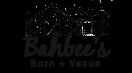 Bahbee's Barn and Venue_blacklogotransp.