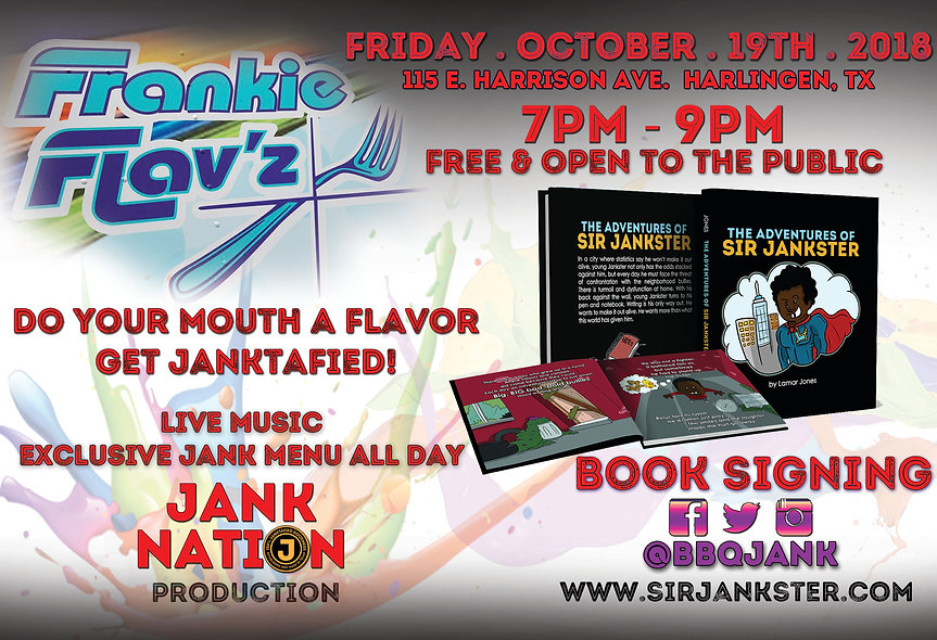 The Adventures of Sir Jankster Official Book Release