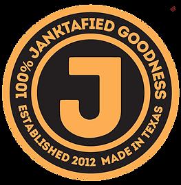 The Jank Gourmet BBQ Sauce Janktafied Goodness Logo