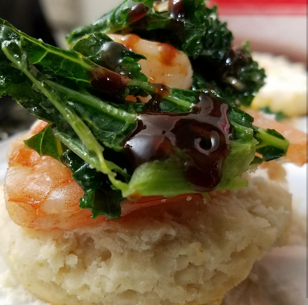 Kale Jank & Shrimp