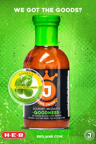 Jank Goodness, Diabetic friendly, keto, bbq sauce, the jank, the goodness, #JankGoodness, #thejank, #diabeticfriendly,