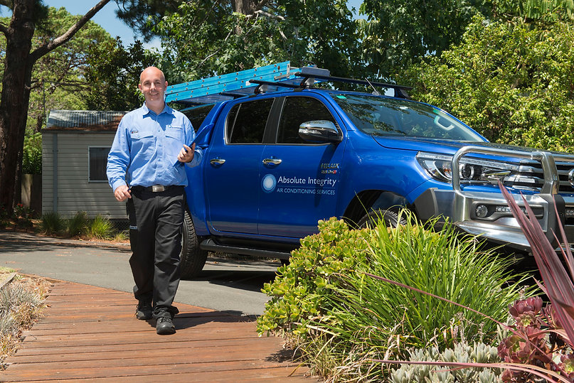 Simon Crowe from Absolute Air Conditioning Services in Sydney NSW