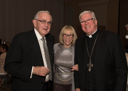 Pat Longe, Diane Boran and Bishop Dewane