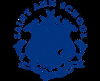 Saint Ann Catholic School Logo Navy (1).
