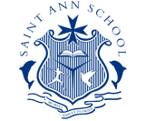 Saint Ann Catholic School Logo Navy (1).