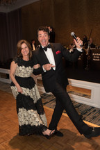 """Janet Buigas and """"Dean Martin"""""""