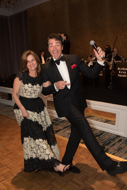 "Janet Buigas and ""Dean Martin"""