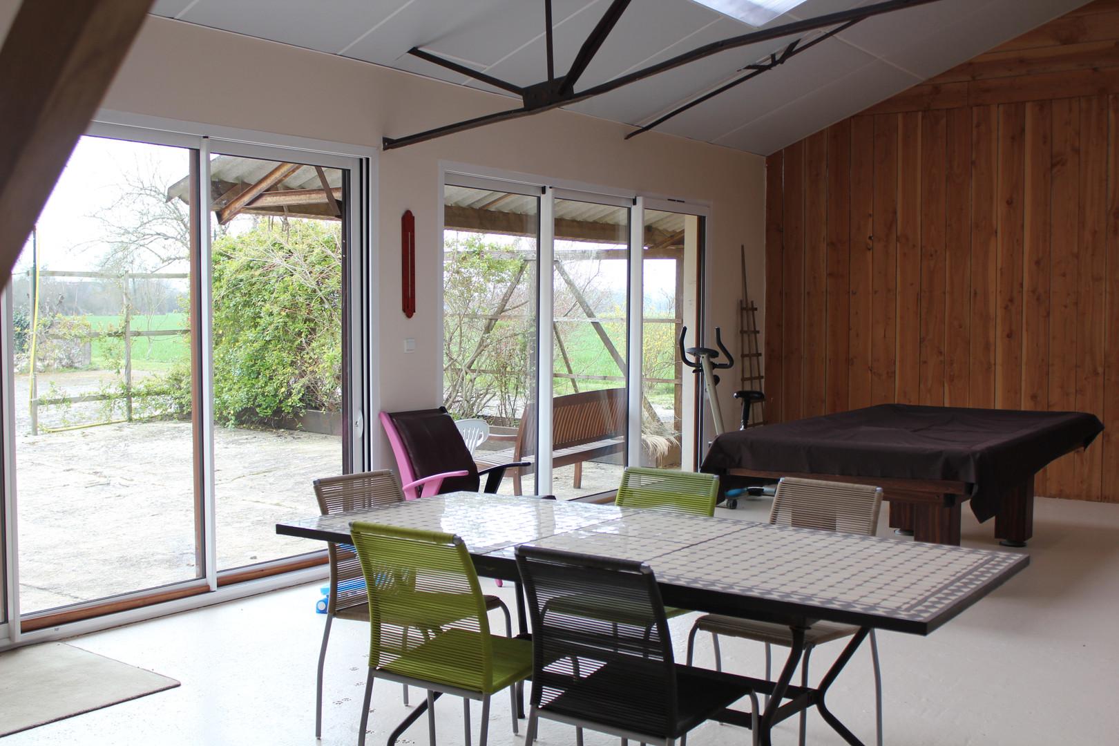 Espace de détente chambres d'hôtes