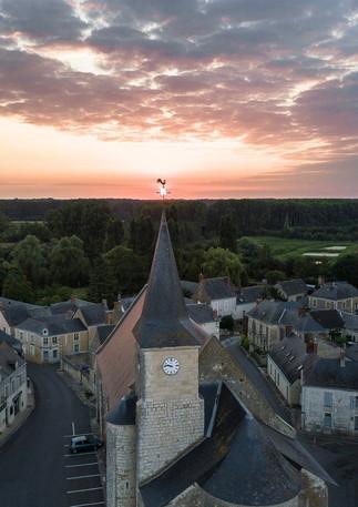 Genneteil photographié par Drone Urbex Watch