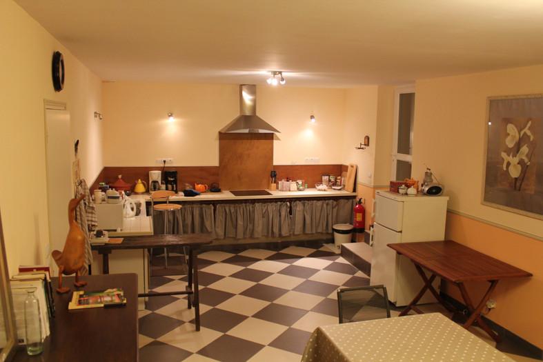 Cuisine chambres d'hôtes