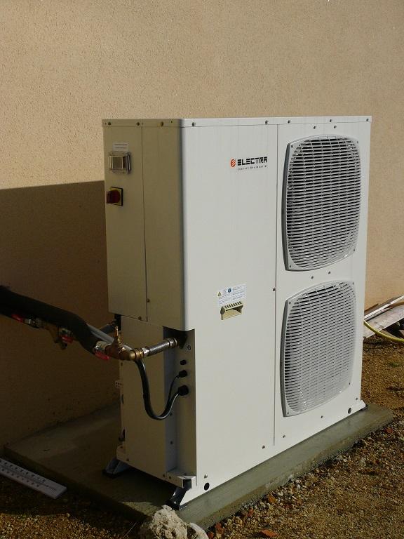 Pompe à chaleur air eau