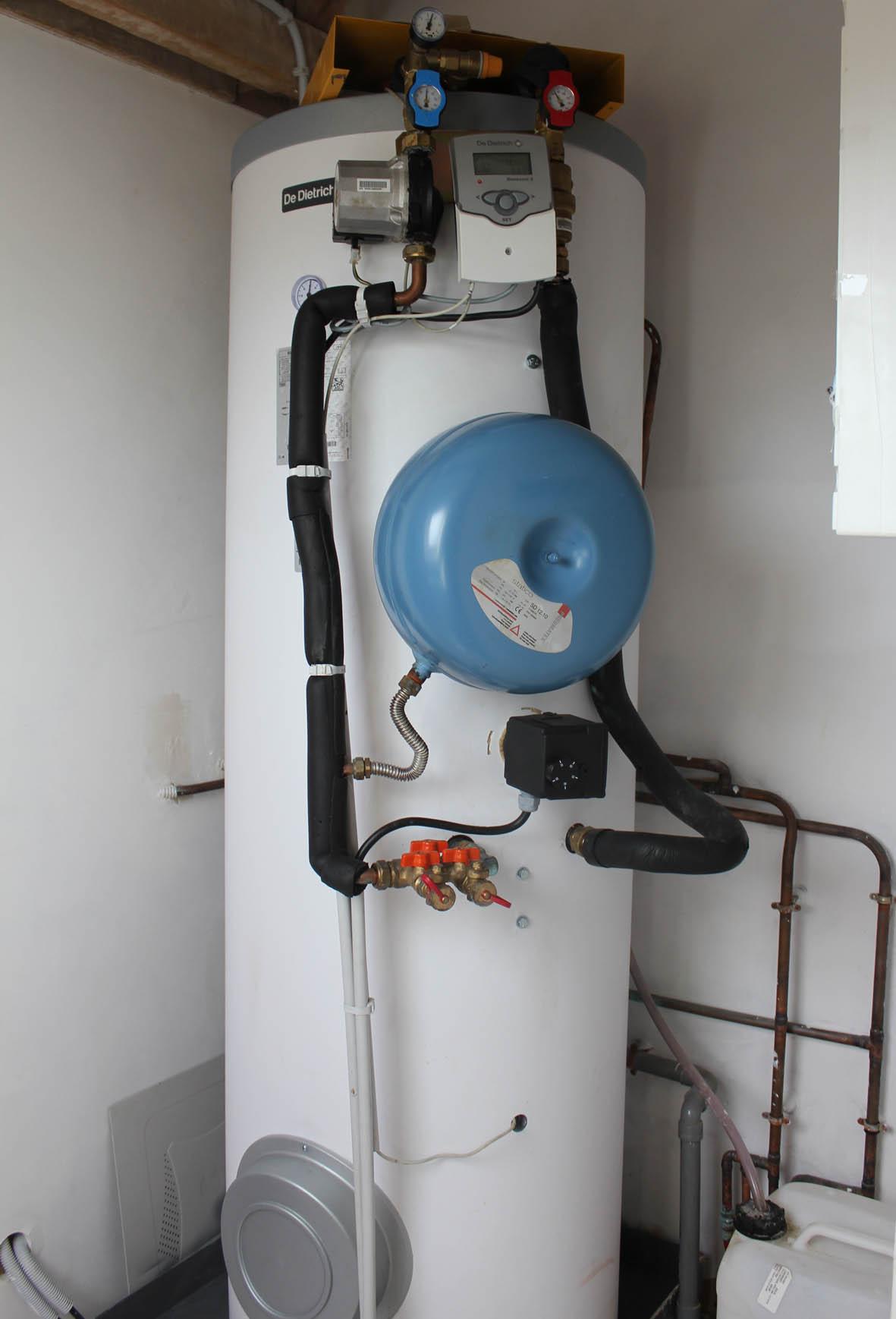 Chauffe eau solaire 300l maison principale
