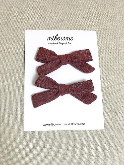 Pack Mini Alexia // Burgundy Cozy