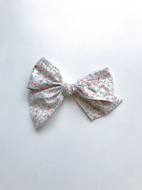Sissi Bow // Flowers Pink