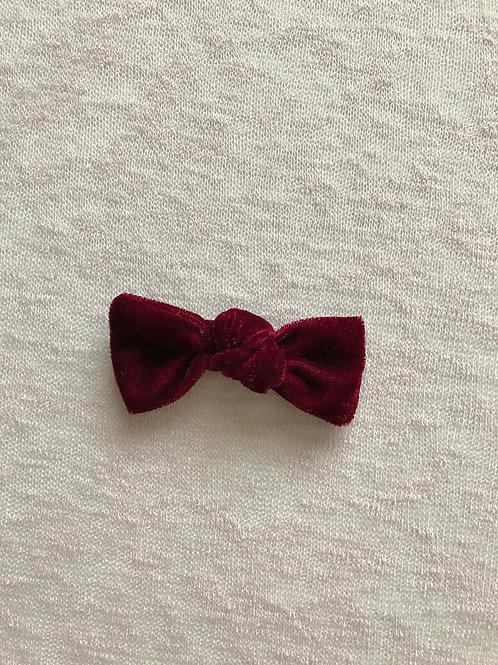 Velvet Bow Candy // Granate