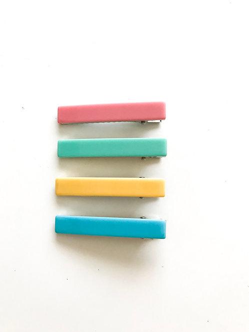 Pack 4 clips variados