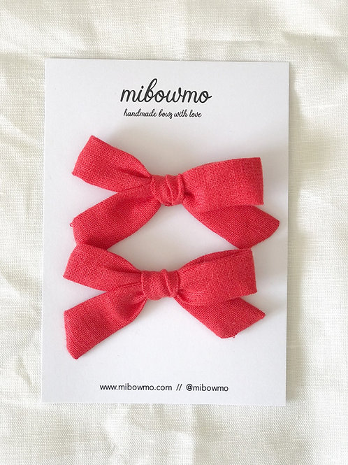 Pack Mini Alexia //  Lino Rojo
