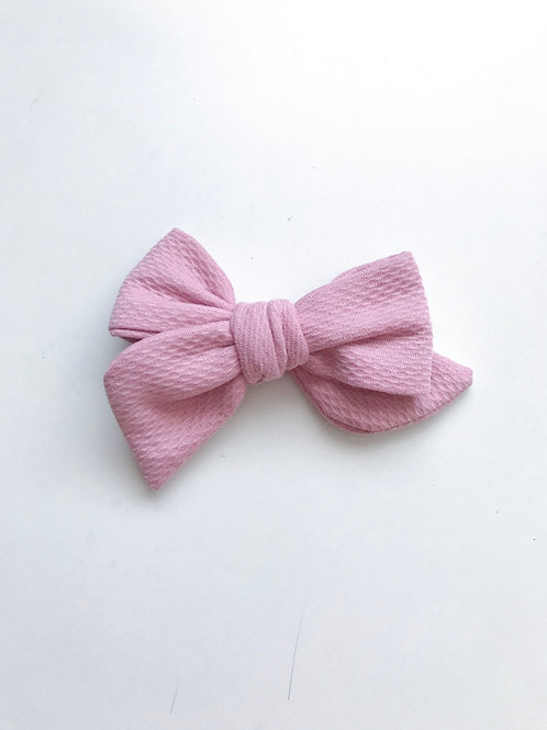 Sissi Bow // Pink Texture