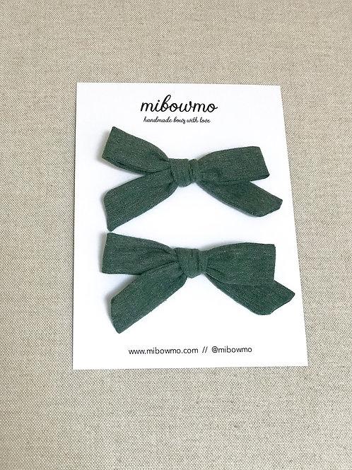 Pack Mini Alexia // Green Cozy