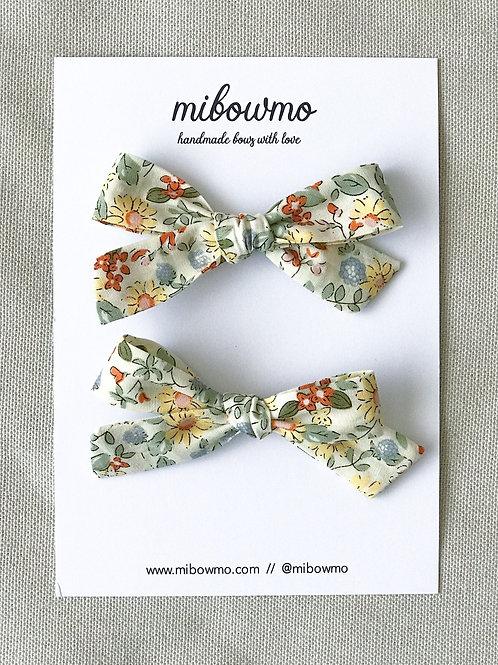 Vintage Collection // Pack Mini Alexia // Flores Amarillas