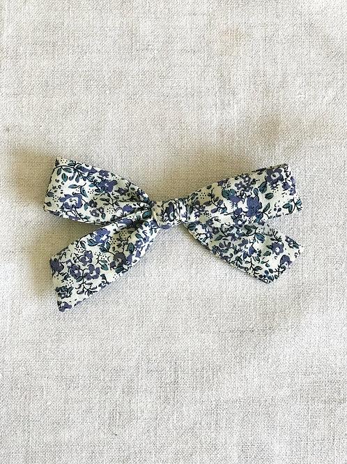 Alexia bow // Flores Azules