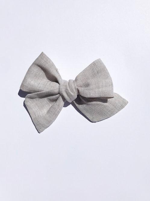 Sissi Bow // Lino Natural