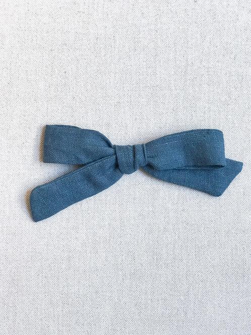 Maxi Alexia // Lino Azul Denim