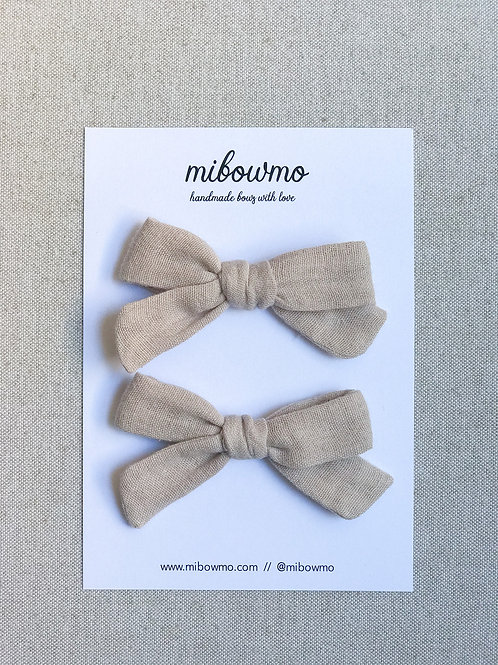 Pack BAMBULA // Mini Alexia // Beige
