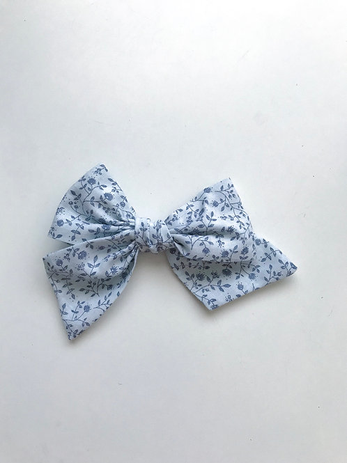 Sissi Bow // Soft Liberty blue