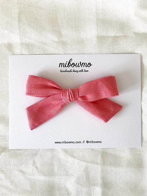 Alexia bow // Lino Bubble Gum