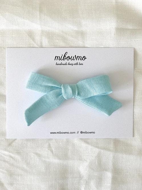 Alexia bow // Lino Azul Vivo