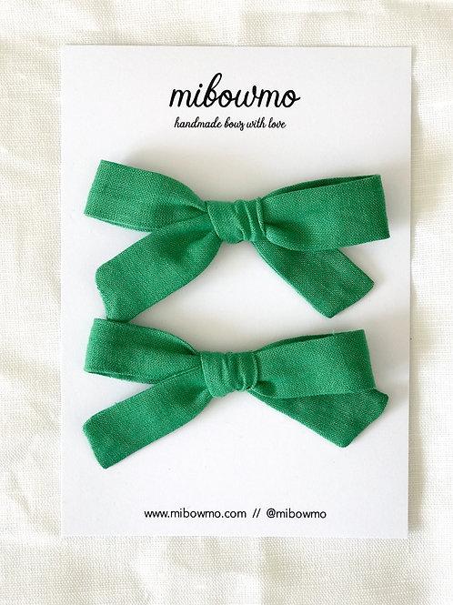 Pack Mini Alexia //  Lino Verde Césped