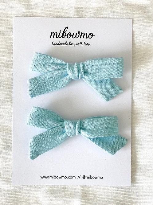 Pack Mini Alexia //  Lino Azul Vivo