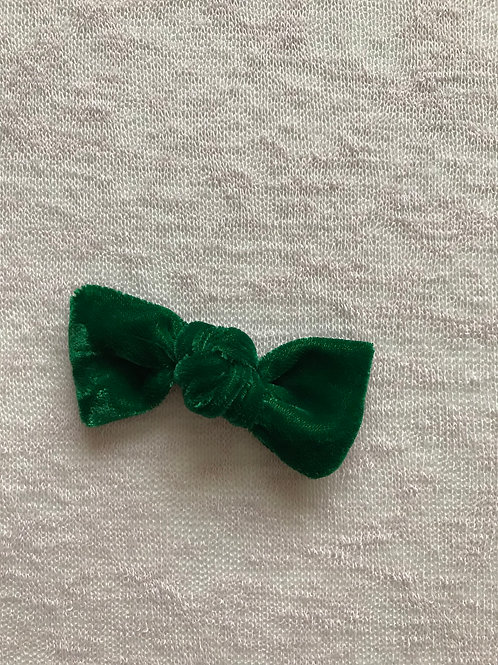 Velvet Bow Candy // Verde Césped