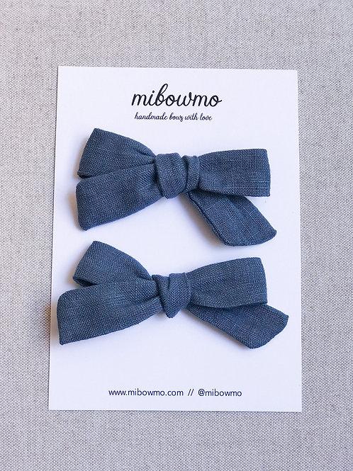 Pack Mini Alexia // Lino Azul Denim